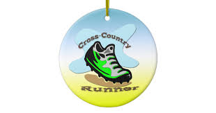 cross country running ornaments keepsake ornaments zazzle