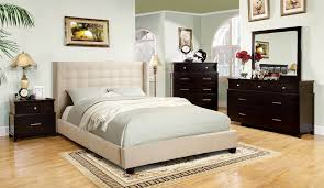 quilted headboard bedroom sets upholstered headboard bedroom sets throughout distressed ivory