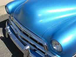 a beautiful blue paint job using custom shop paint custom shop