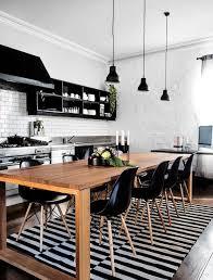 d co cuisine cuisine bois et noir simple cuisine taupe et bois