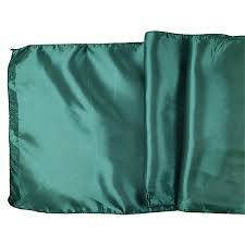 emerald green table runners satin table runner solid emerald green