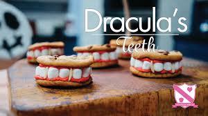 No Cook Halloween Treats Halloween Treat Ideas 1 Dracula U0027s Teeth In The Kitchen With