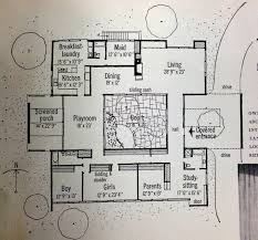 House Plans With A Courtyard Inspiration Retro 1959 Home Magazine Features Mid Century Modern