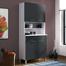 buffet de cuisine gris meuble cuisine gris eco buffet de cuisine contemporain blanc mat et
