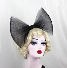 black bow headband black bow headband band adjustable bow