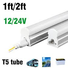 24v led light bulb t5 1ft 4w led tube dc12v 24v led light bulb smd2835 led fluorescent