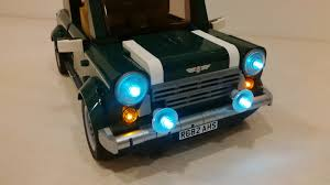 lego mini cooper interior lightup kits for lego creator mini cooper by 3direction