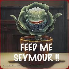Feed Me Seymour Meme - 84 best little shop of horrors feed me seymour images on