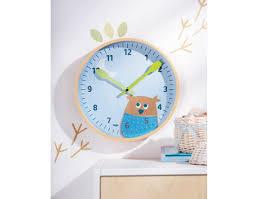 horloge chambre bébé haba horloge murale hibou des bois déco chambre bébé