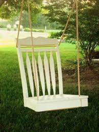 charming porch swings u0026 a clever pinterest chair swing diy project