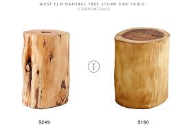 Tree Stump Side Table Daily Find West Elm Tree Stump Side Table Copycatchic