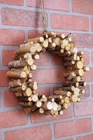 natural birch peg wreath 12