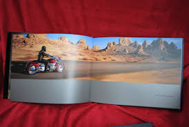 honda valkyrie rune coffee table book with service manual and