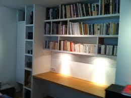 bibliothèque avec bureau intégré bibliotheque avec bureau integre bureau plateau chane naturel vernis