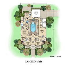 Luxury House Plans With Pools Luxury Home Plans Castle Floor Plan Blueprints Mexzhouse Home