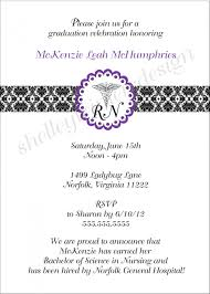 Graduation Invite Cards Nursing Graduation Invitation Wording Diy Wedding Place Card Ideas