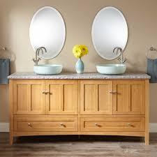 Bamboo Vanity Bathroom 72