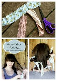 headband roll how to rag roll your hair looking curls that don t damage