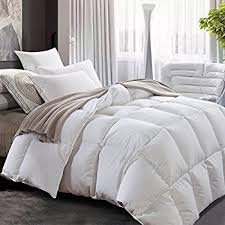 Down Comforter Protective Covers Amazon Com Puredown Lightweight Down Comforter Light Warmth Duvet