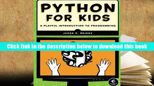 free download python for kids a playful introduction to