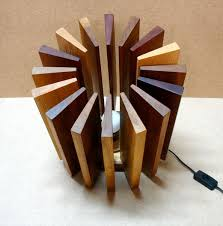 l made from wooden pieces recyclart