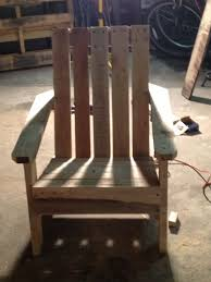 Diy Outdoor Chair Plans Pallet Adirondack Chair 9 Steps With Pictures
