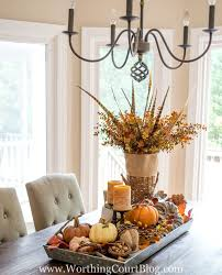 fall table centerpieces farmhouse fall table centerpiece worthing court
