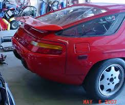 1979 porsche 928 body kit has anyone done a 928s4 rear bumper conversion to an early car