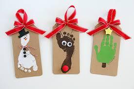 footprint ornaments eighteen25