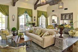 French Style In Southern California Eclectic Family Room - Family room styles