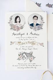 best 25 illustrated wedding invitations ideas only on pinterest