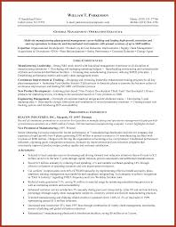 Resume Sample Key Competencies by Generic Resume Samples Job Proposal Example