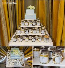 wedding cake jars hailey s wedding at rudding park leeds wedding