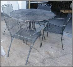 Wrought Iron Patio Chair Woodard Briarwood Wrought Iron Patio Furniture Patios Home