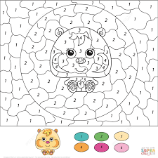 hamster coloring pages printable aecost net aecost net