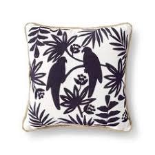 Threshold Aqua Peach Birds Floral Woven Stripe Throw Pillow Yellow U2013 Threshold Target Couch