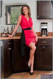 Red Milf Kitchen - milf kitchen heels