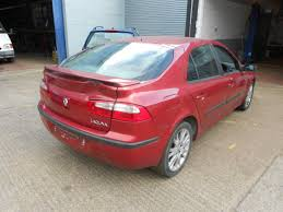 renault laguna 01 05 offside driver front wing b76 flame red