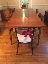 Mid Century Dining Table And Chairs Mid Century Modern Drexel Declaration Dining Table And Six Chairs