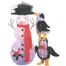 Outdoor Christmas Decorations Penguins by Outside Animated Christmas Decorations Infobarrel