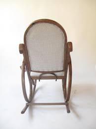 How To Fix Rocking Chair Antique Rocking Chair By Michael Thonet For Sale At Pamono
