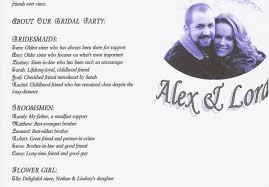 create a wedding program create a personalized wedding program template by exceptionalnl