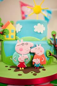 cartoon pig cake paul bradford sugarcraft