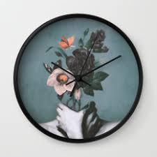 wall clocks by dada22 society6