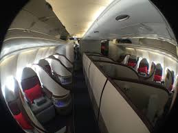 Airline Glass And Upholstery Air Serbia A330 Jfk Beg Inaugural Business Class June 2016