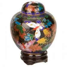butterfly urn butterfly cloisonne keepsake urn cremation solutions