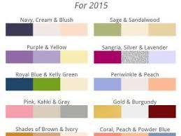cuisines tendances 2015 mariage les couleurs tendances de 2015 par instemporel