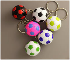 ball rubber rings images 20pcs hot sale small rubber soccer ball key chains toy key rings jpg