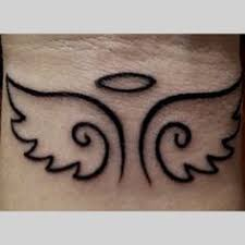 50 small angel tattoos and designs tats pinterest small