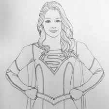 pin by damien stanley on supergirl coloring pages pinterest